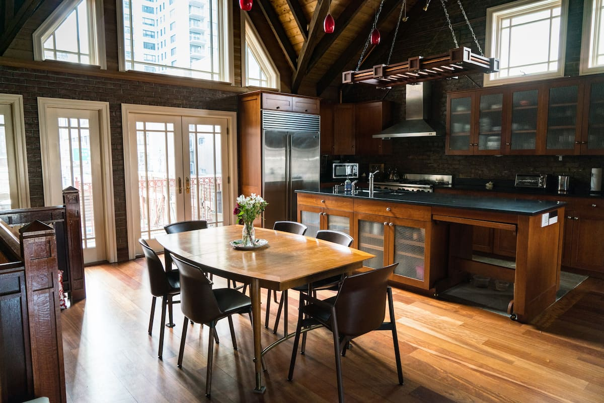 photo of the gnome house one of the best Airbnbs in NYC