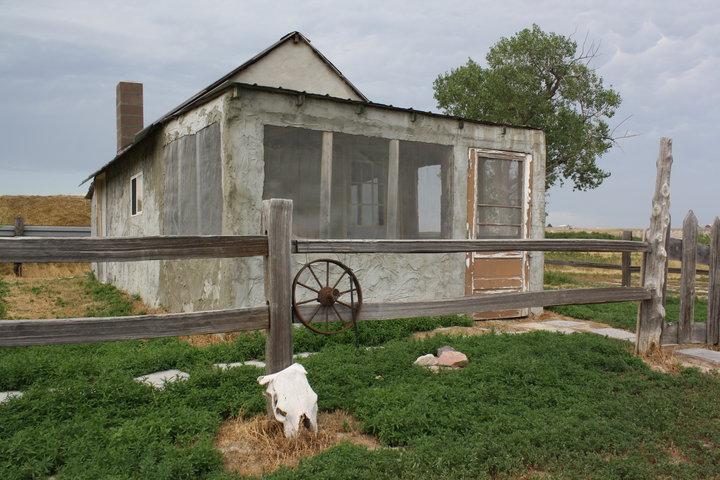 Photo of Badlands 1880 Homestead Cabin Airbnb in Scenic South Dakota