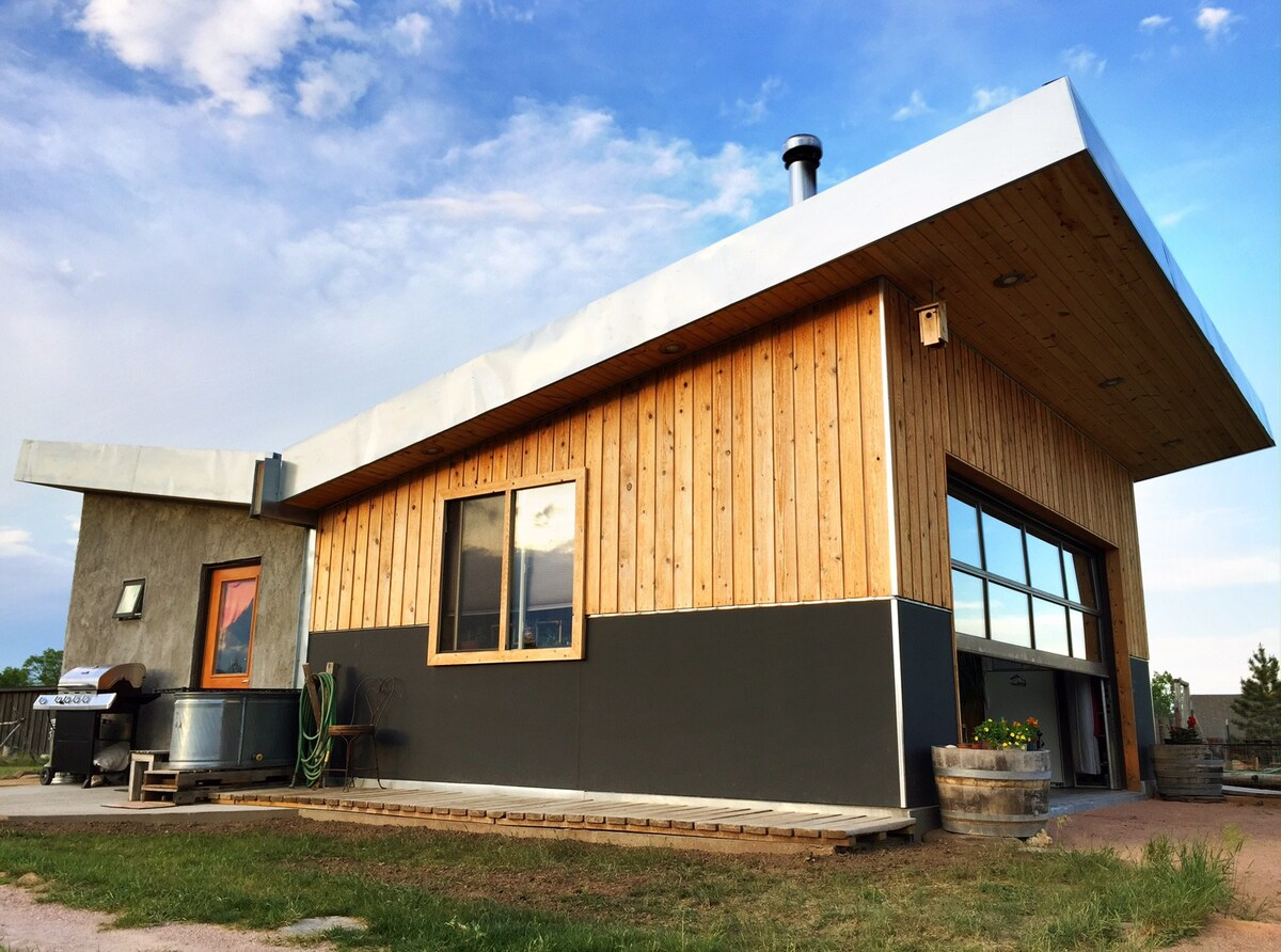 Photo of Bale and Butterfly Bungalow Airbnb located near Rapid City South Dakota