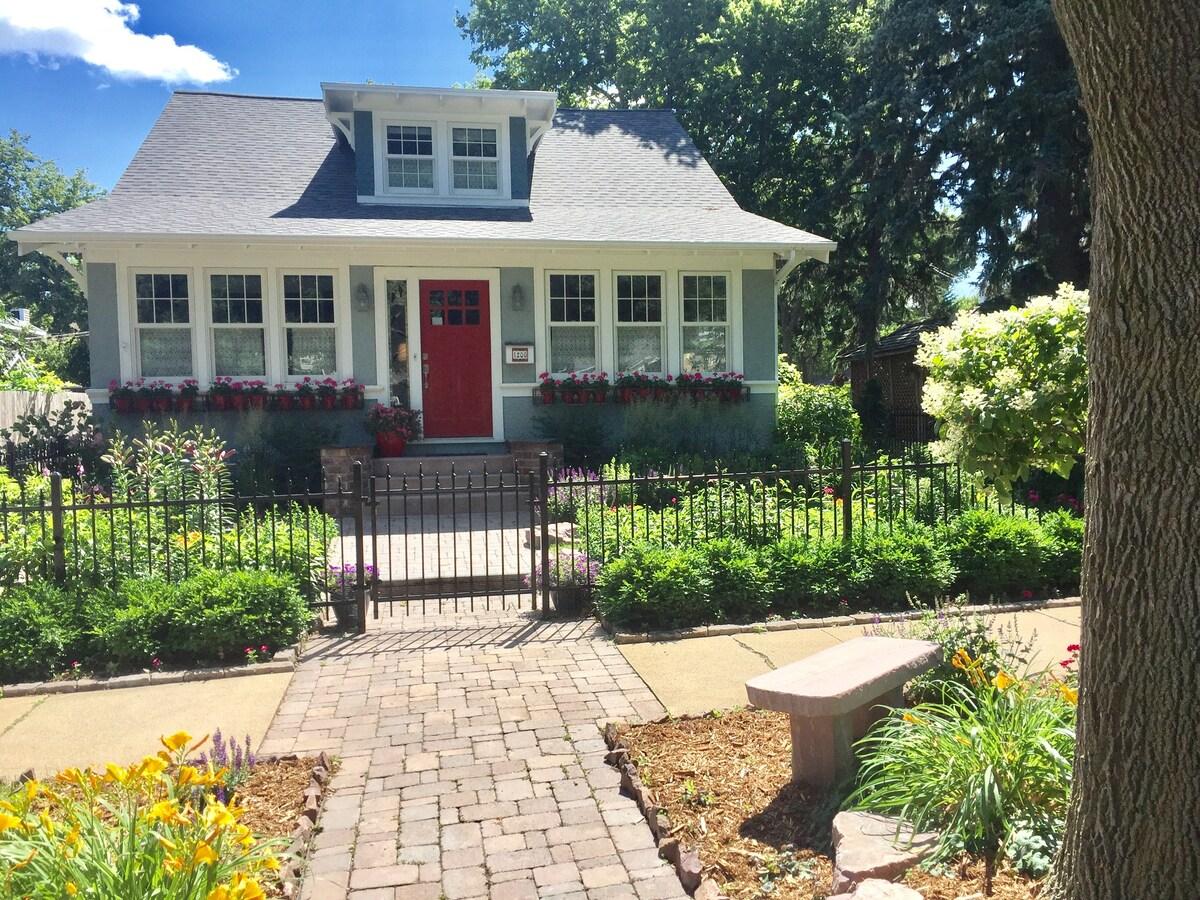 Photo of McKennan Park Garden Cottage Airbnb in Sioux Falls South Dakota