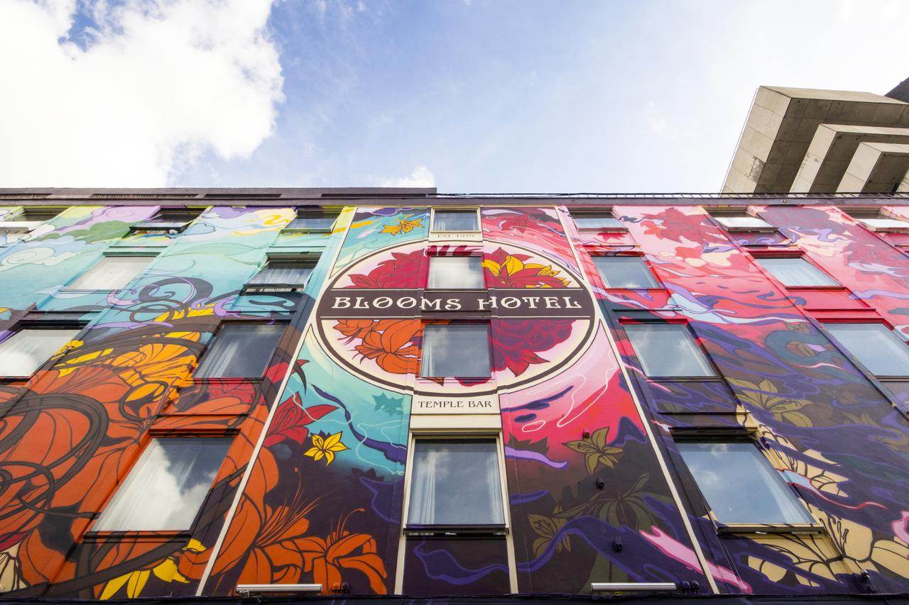 You cannot miss Blooms Hotel from the outside!