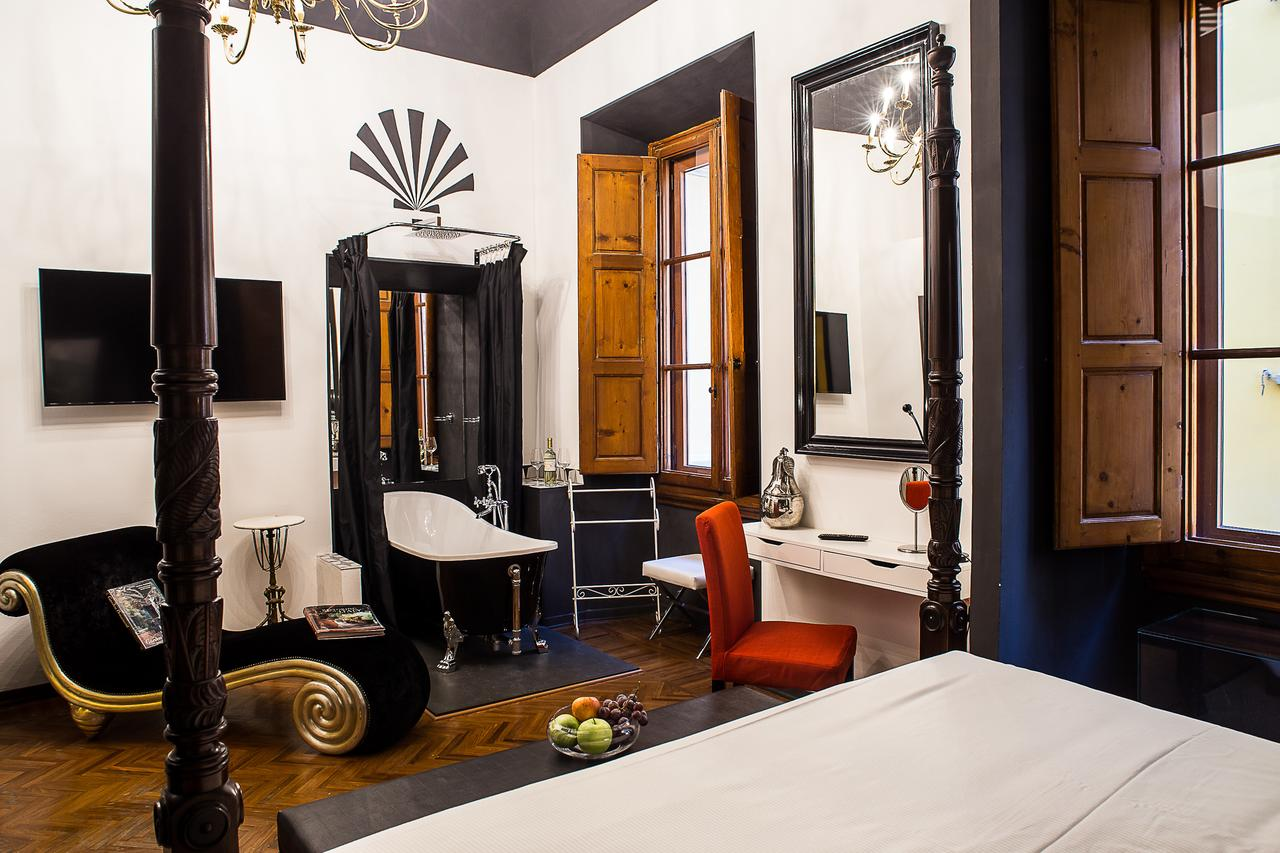 this boutique hotel in florence doubles as an art gallery!
