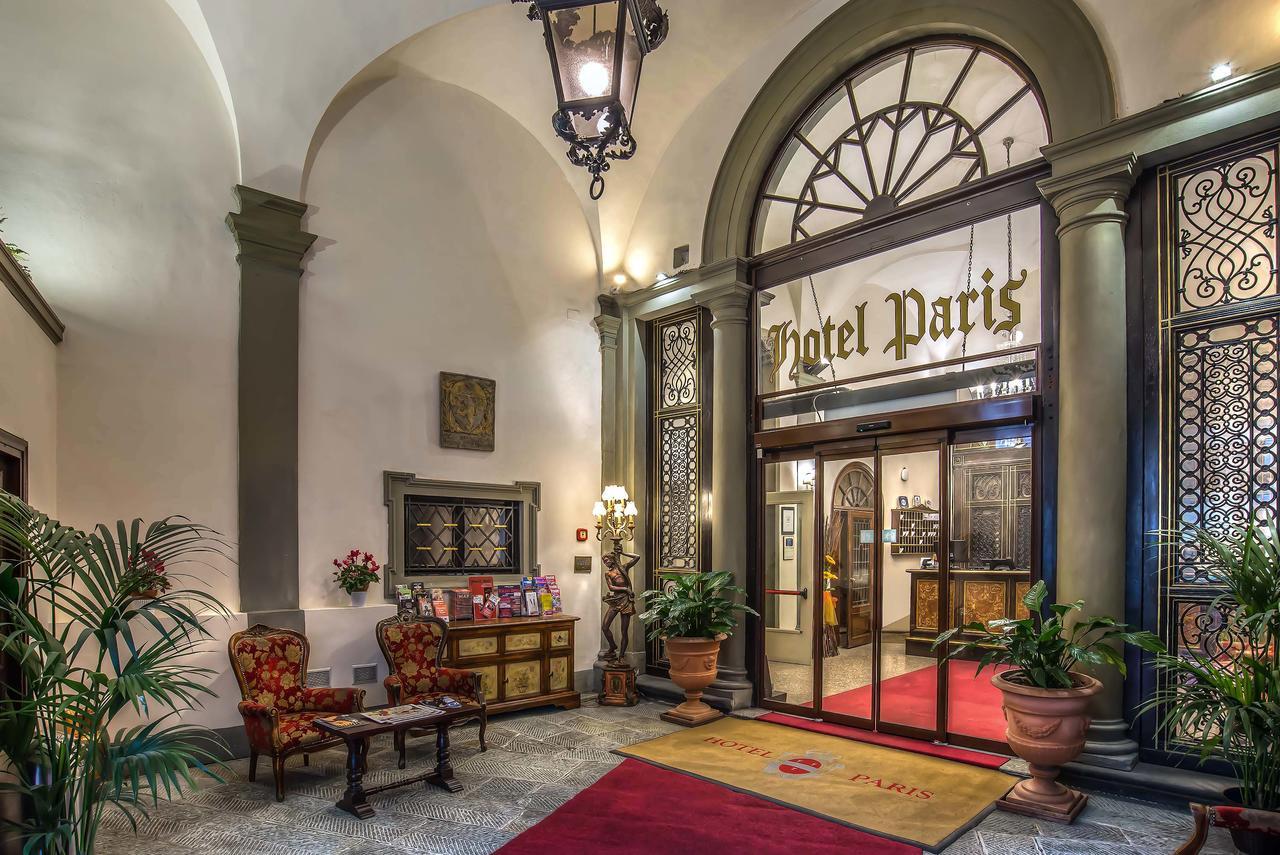 Hotel paris is just one of the many beautiful boutique hotels in florence