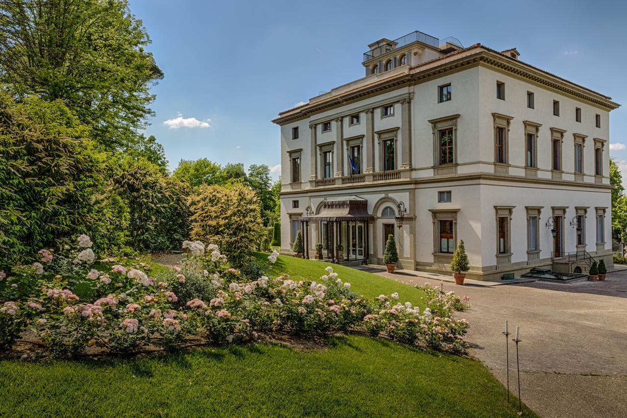 Villa cora is a beautiful boutique hotel in florence that is surrounded by gardens