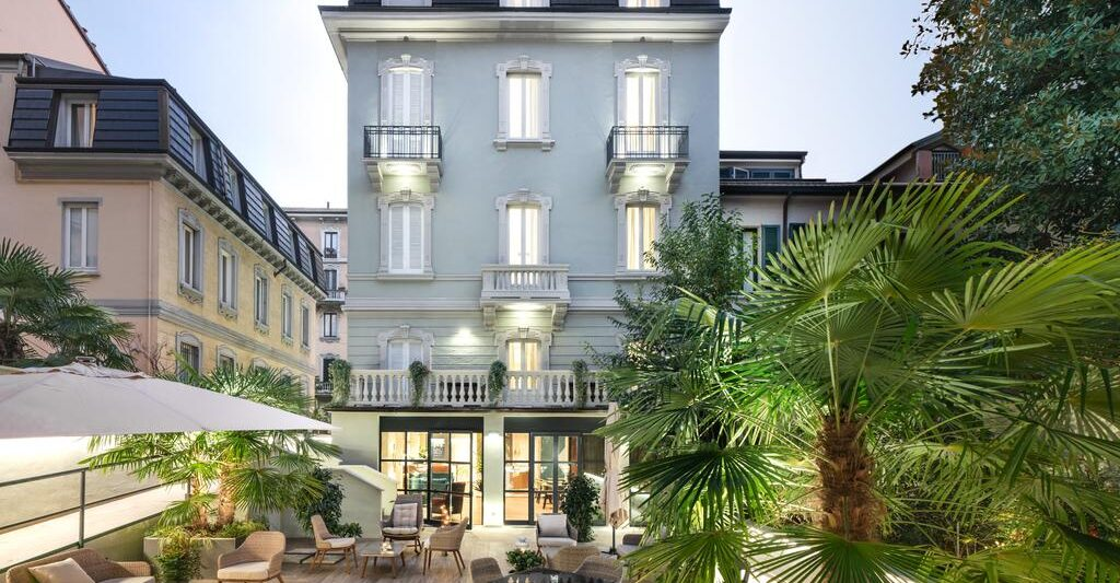 A beautiful boutique hotel in milan