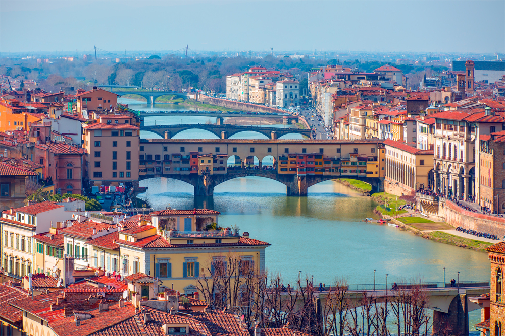 florence is such a beautiful city we think you will have trouble leaving it behind!