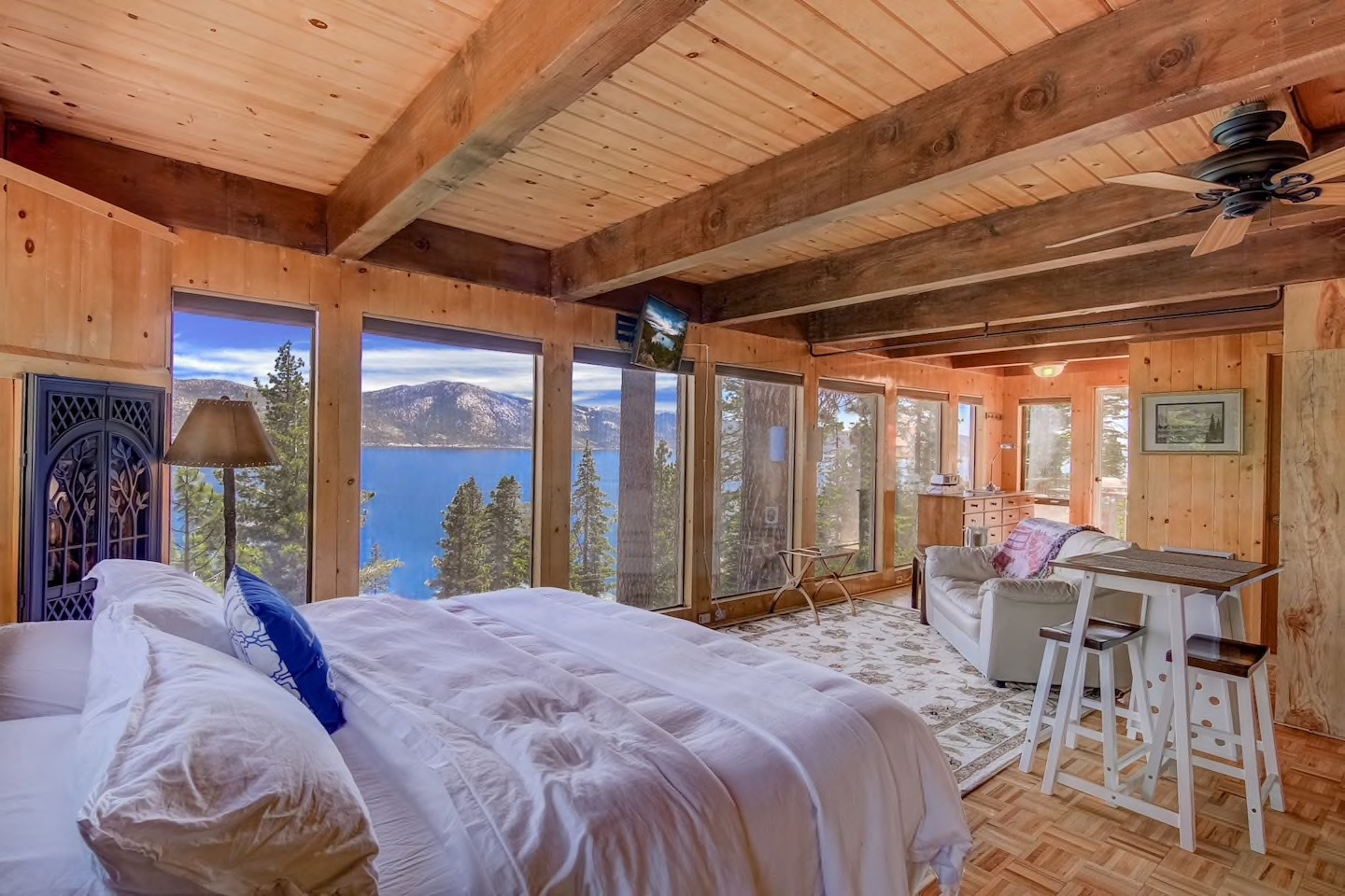 the Stargazer Lake Tahoe Airbnb