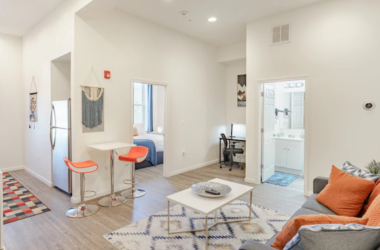 Bright and modern apartment one of the best airbnbs in baltimore