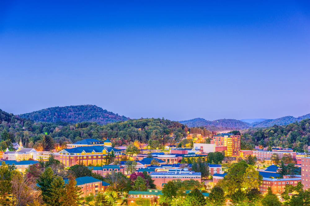 Boone, North Carolina is a small town with rich history.
