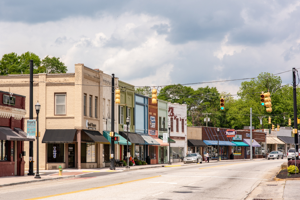 Inman, South Carolina is a great small town that is full of adventure in its historic downtown.