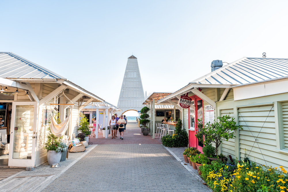 Seaside Florida is perfect for a small town, beach getaway.