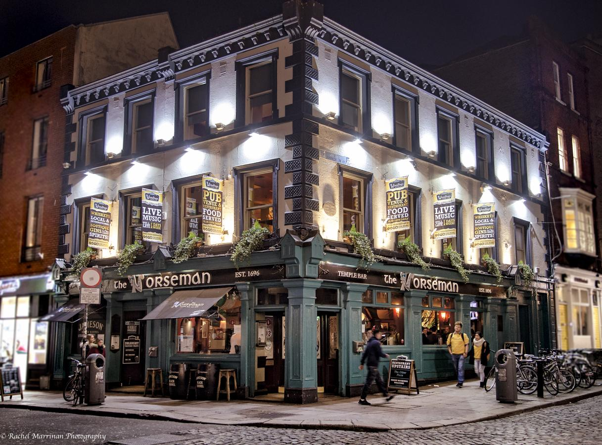 The norseman temple bar is a 120 year old pub!