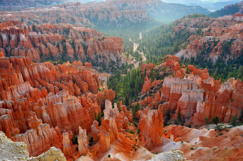 photo of inspiration point in bryce canyon