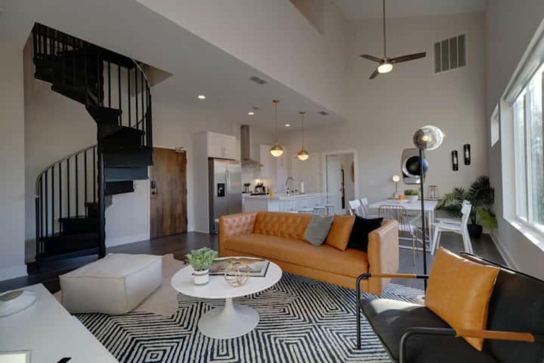 Loft home Airbnb in Nashville