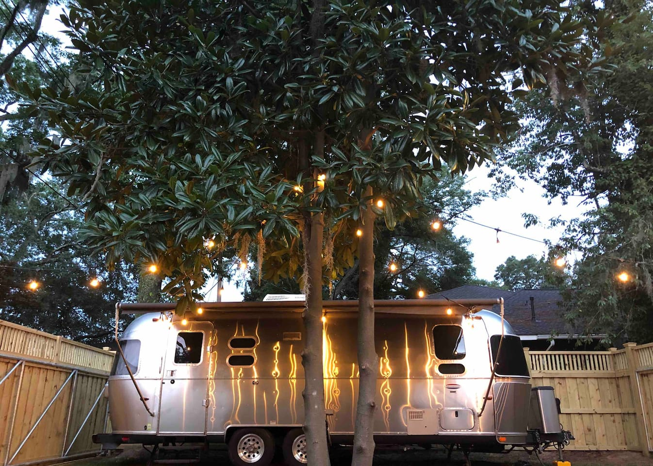 Silver Belle Airstream Airbnb in Savannah