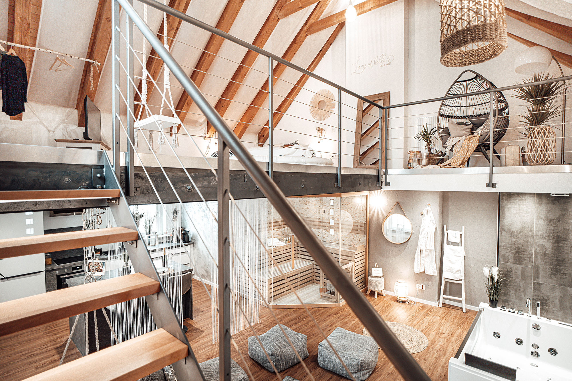 Photo of luxurious loft one of the best airbnbs in germany