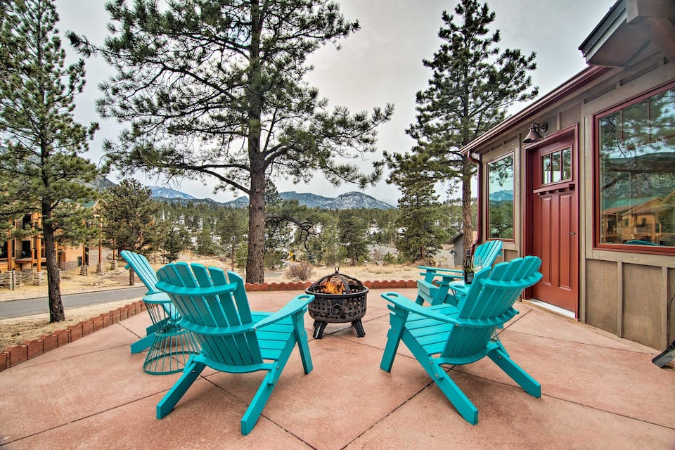 a photo of a charming getaway, one of the best cabin rentals in Estes Park