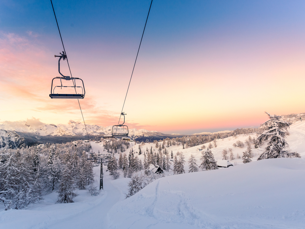 photo of a ski lift at the montana snowbowl one of the best ski resorts in america