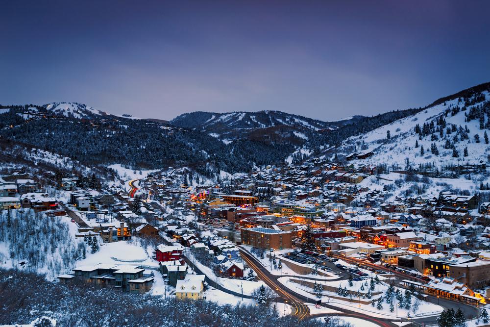 photo of park city utah one of the best ski resorts in america