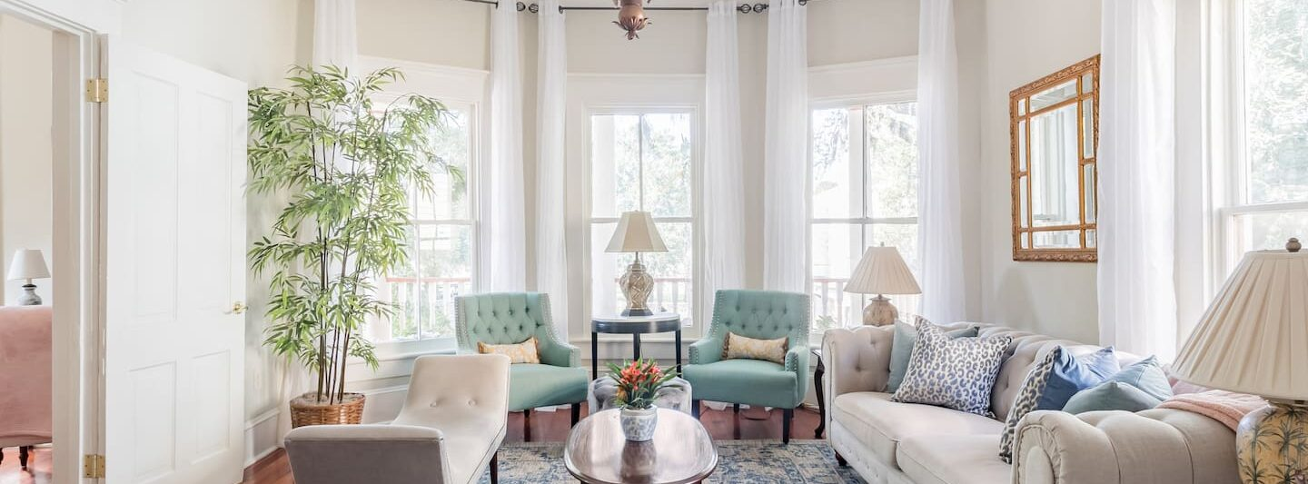 one of the prettiest Airbnbs in Savannah