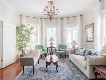 one of the prettiest Airbnbs in Savannah