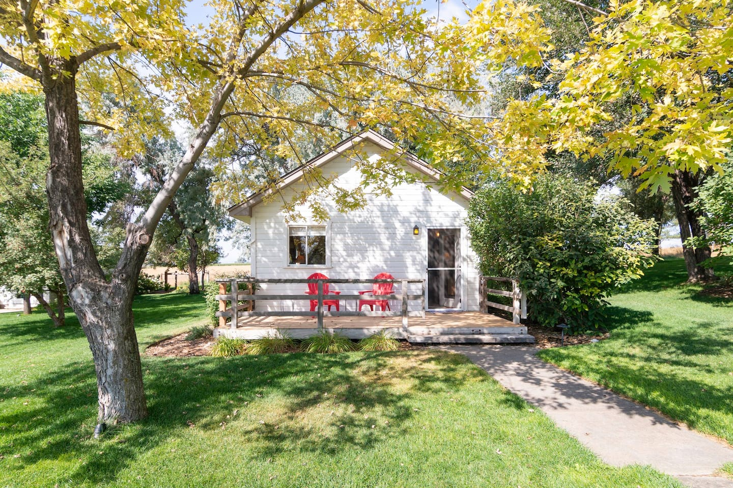 The Cottage at Four Clover Farm is one of the best Airbnbs in Boulder