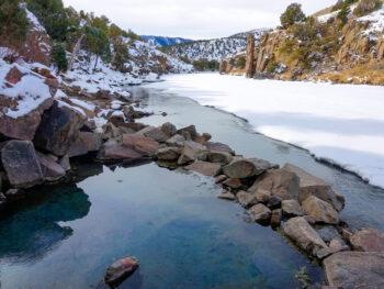 pretty hot springs in colorado