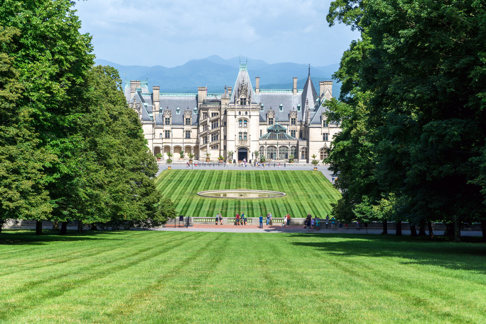 The Biltmore estate in Asheville, North Carolina is one of the best places in the South.