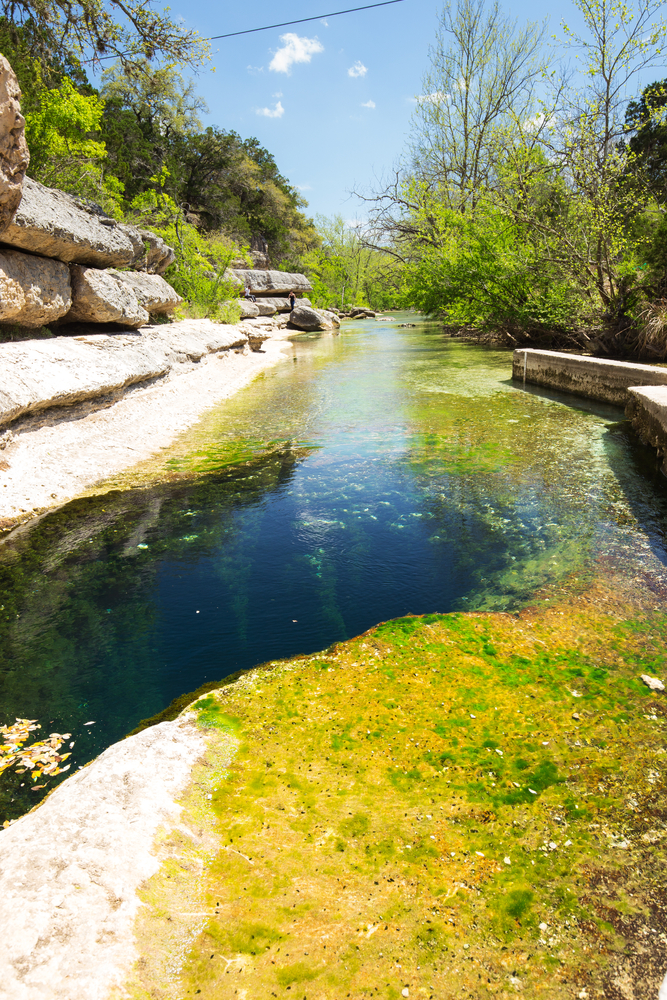 One place to visit in the South is Jacob's Well