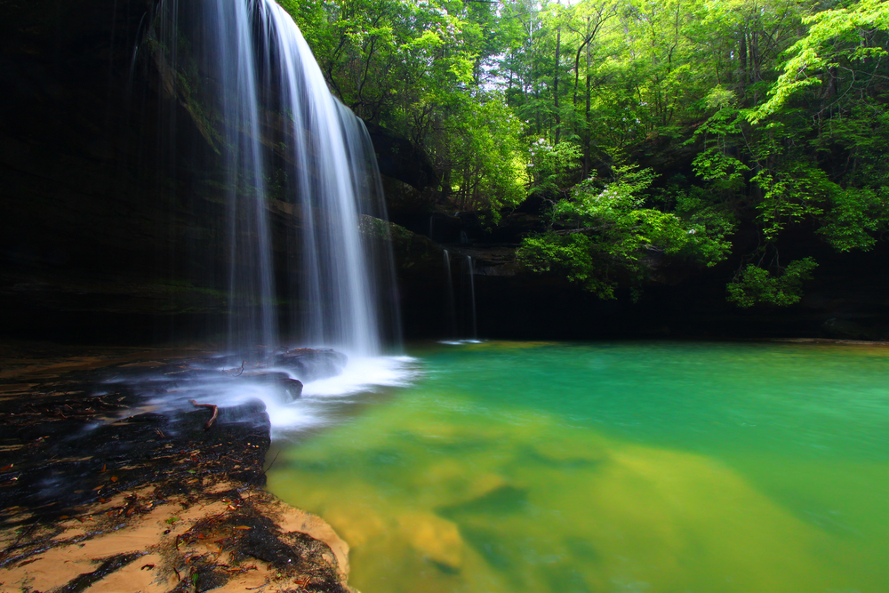 Places to Visit in the South Upper Caney Creek Falls