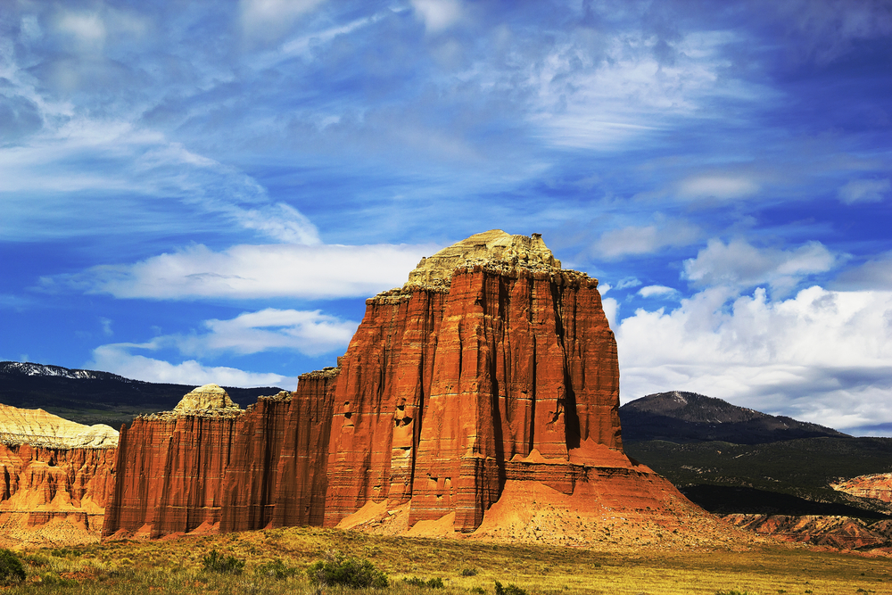 The Valley of the Cathedrals Hidden away in the northern part of Capitol Reef