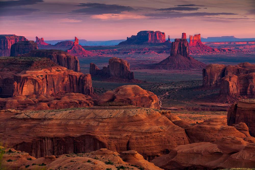 The incredible Monument Valley in Utah