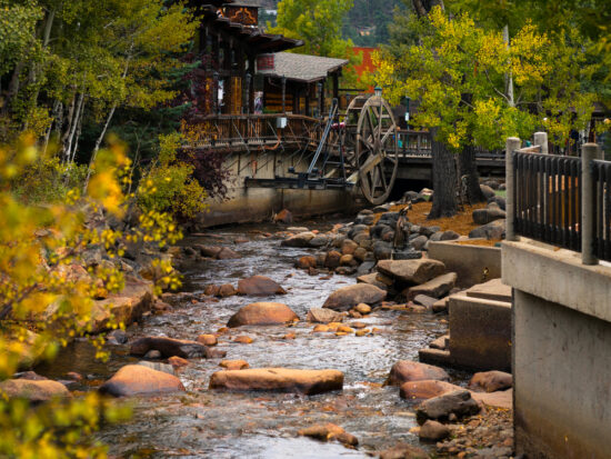 things to do in Estes Park Colorado and visit the mill downtown