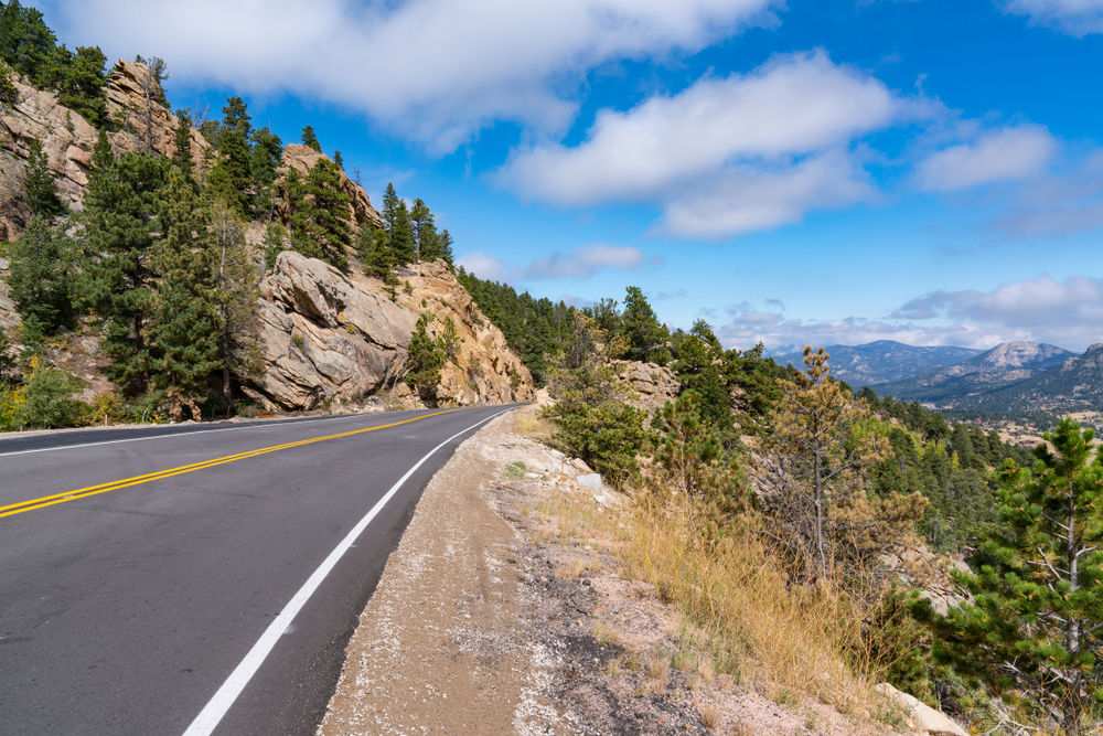 photo of the peak to peak byway, a top activity when thinking about what to do in estes park
