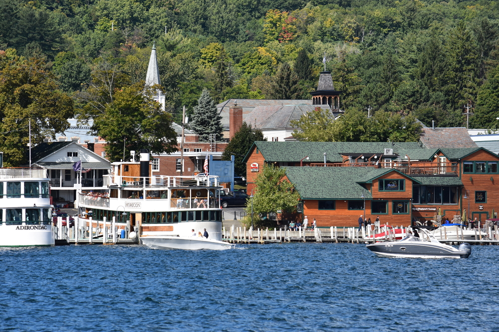 Lake George in up-state New York