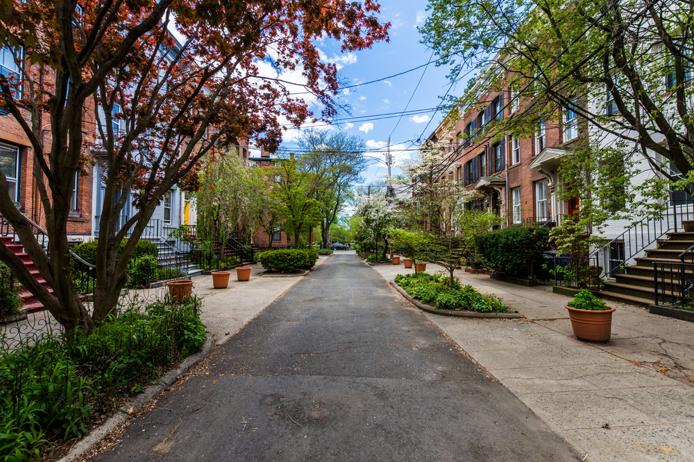A street in New Haven