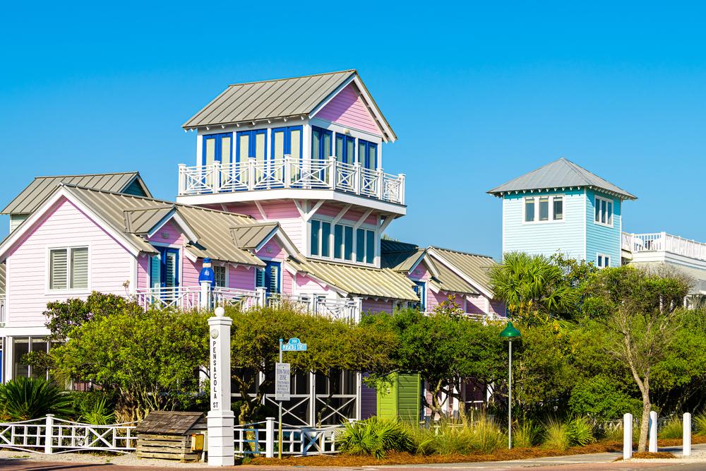 The resort of Seaside in Florida
