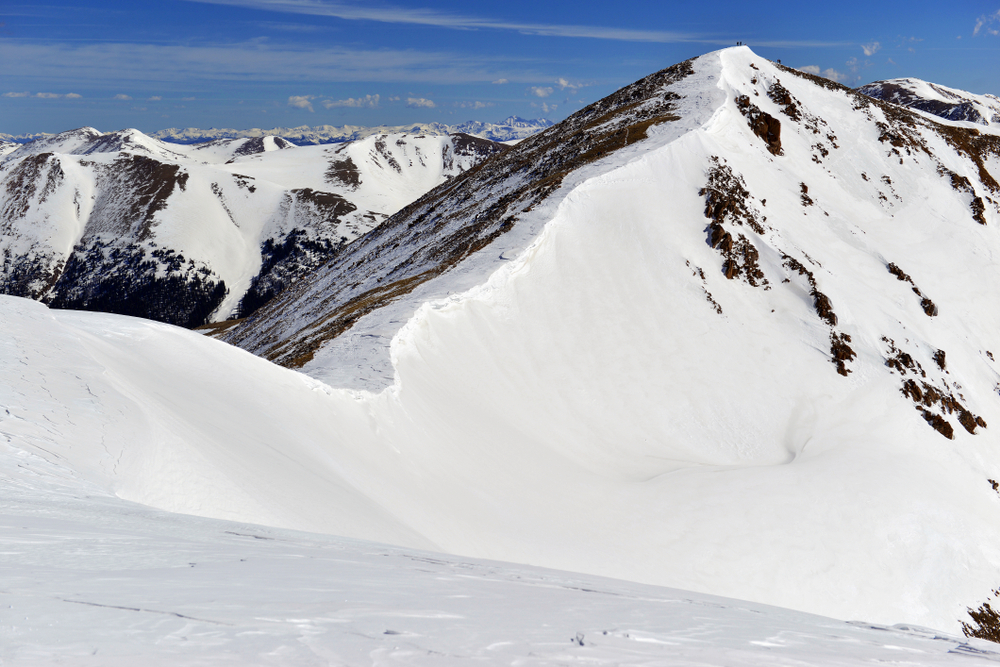 Mount Sniktau is one of the most popular summit climbs in Colorado.