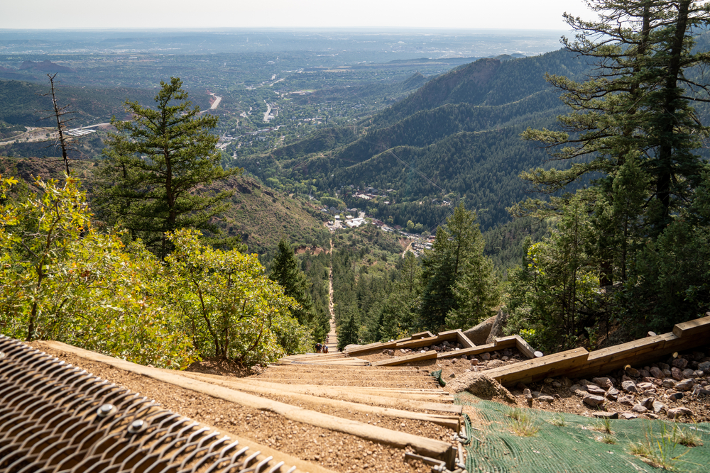 The Incline is notoriously the steepest and most difficult mountain hike in Colorado.