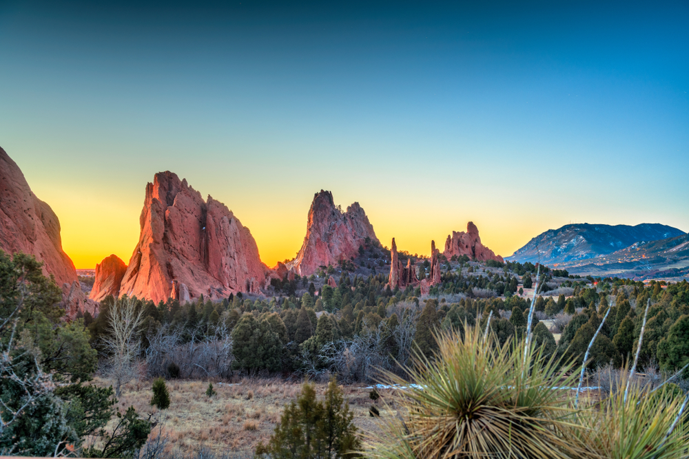 The Garden of the Gods is one of the most stunning, but accessible of the hikes in Colorado