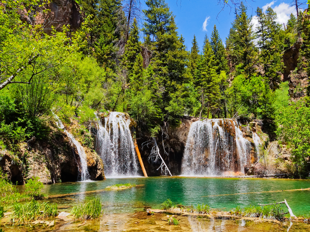 The Hanging Lake trail is one of the most treasured destinations hikes in Colorado.