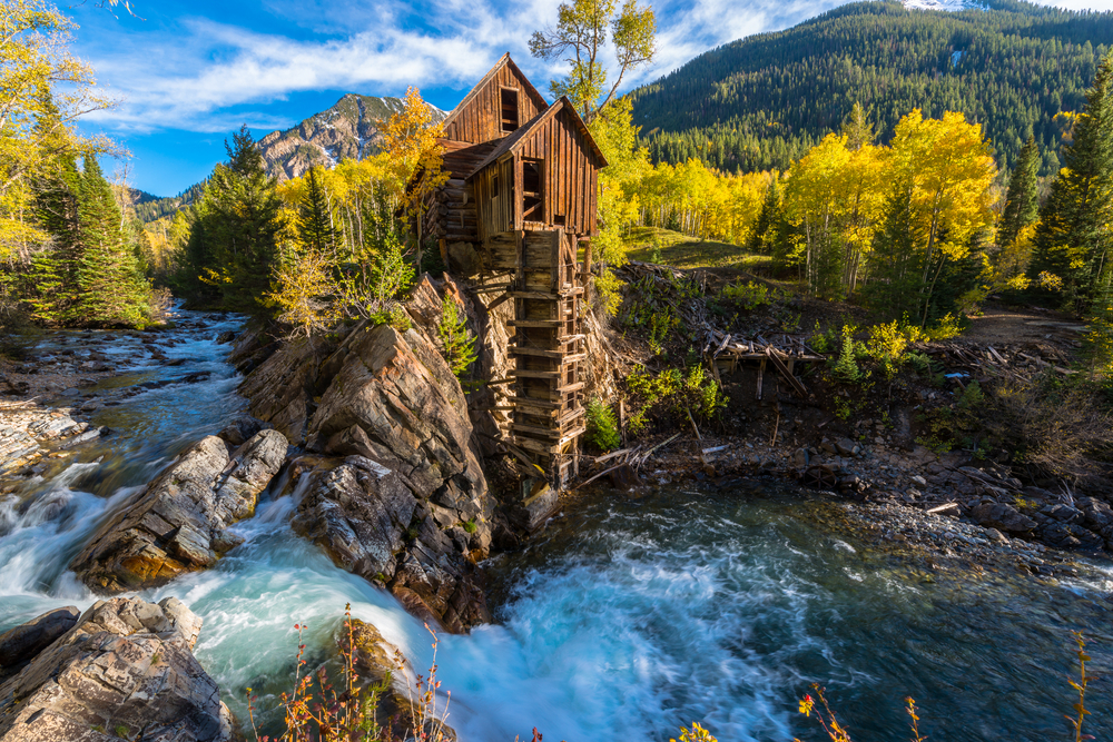 The Crystal Mill is one of the most iconic hikes in Colorado