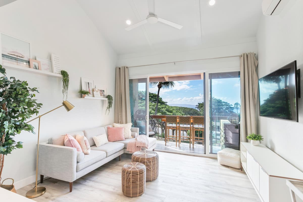the Dreamy Island Penthouse Loft is one of the best Airbnbs in Maui