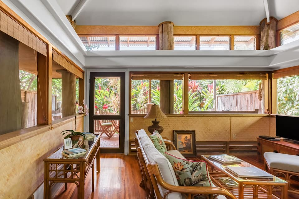 the Kulani Maui-Boutique Ginger Bungalow is one of the best Airbnbs in Maui
