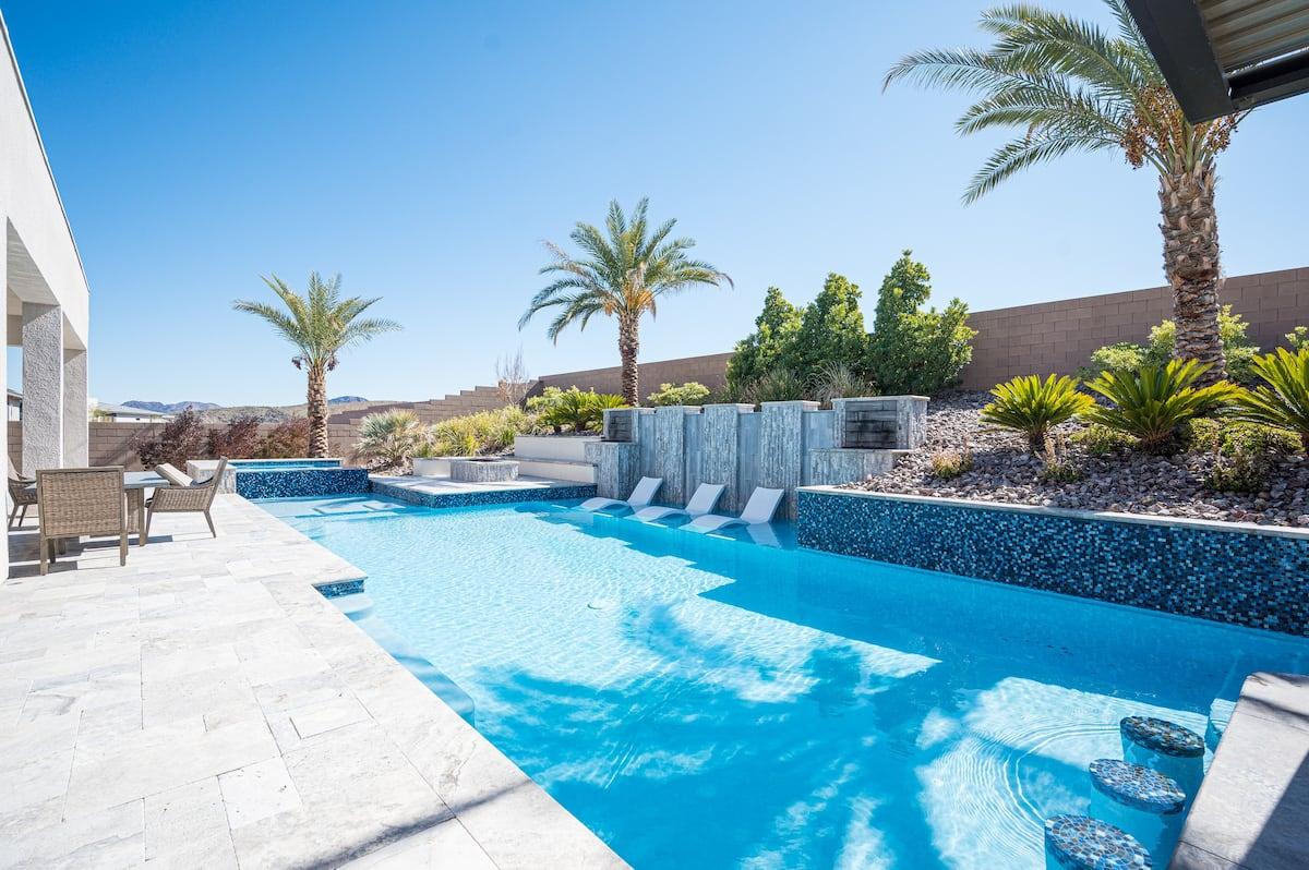 poolside airbnb