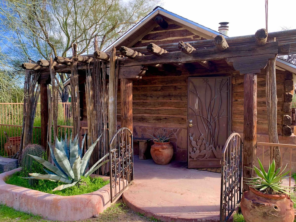Get some social distance amongst the saguaros at one of the best Airbnbs in Tucson