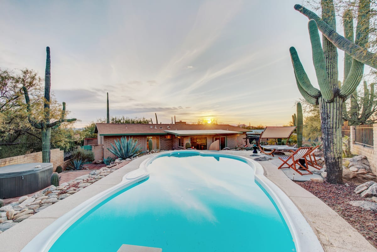 Desert Vibrations is one of the best Airbnbs in Tucson
