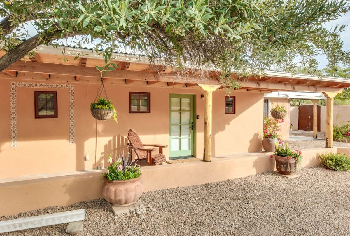 The Jacaranda with its veranda is one of the best Airbnbs in Tucson