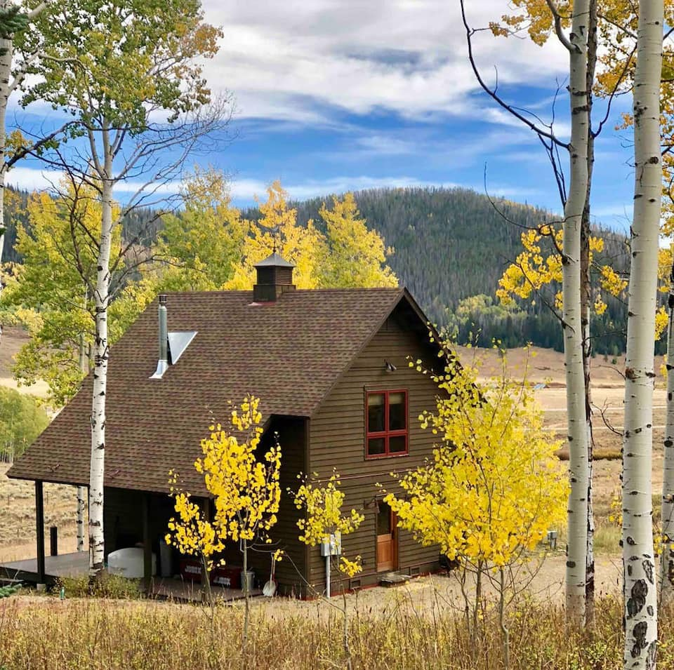 a photo of a serene stay in steamboat springs, one of the best cabins in colorado