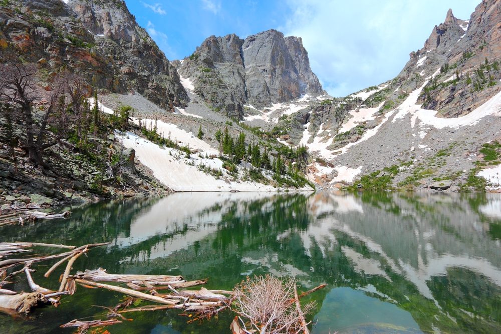 The Emerald Lake Trail is one of the easiest destinations to hike with dynamic mountain views and bright green lakes